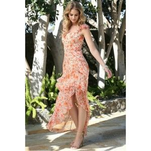 NWT Floral Ruffle Dress
